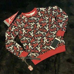Zoozatz Alabama Crimson Tide Sweatshirt Sz Small